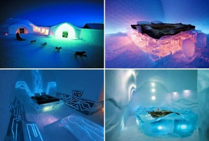 Travel: Ice Hotel in Jukkasjarvi, Sweden - world's first ice hotel
