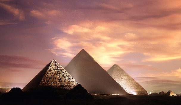 The Mysterious Giza Pyramid of Egypt