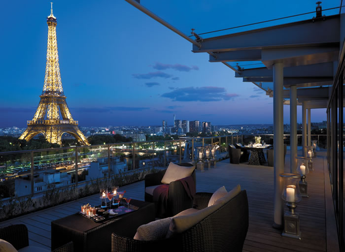 Travel: Shangrila Hotel, Paris, France-- Gorgeous Historic Mansion