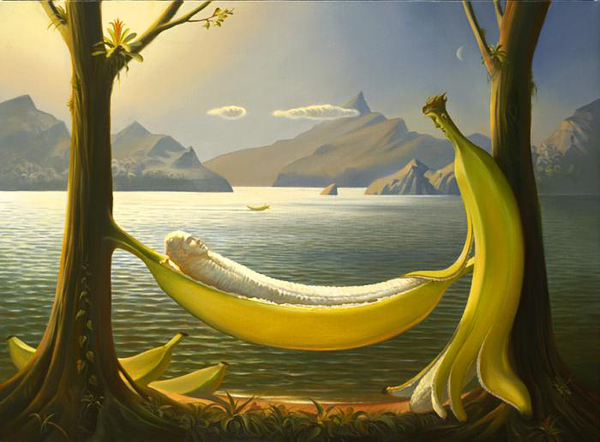 Vladimir Kush, 1965 ~ The Surreal landscapes - Art Styles and Categories: Russian Artist, Surrealism Art Movement
