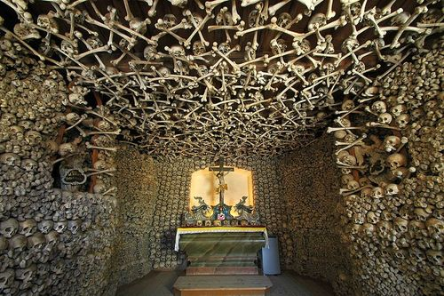 Travel: Sedlec Ossuary in the Czech Republic-- The Art OF Human Remains