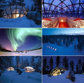 Travel: Hotel Kakslauttanen, Glass Igloos (Finland), amazing hotel