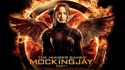 HUNGER GAMES MOCKINGJAY 1: FIRE BURNS  BRIGHTER IN THE DARKNESS