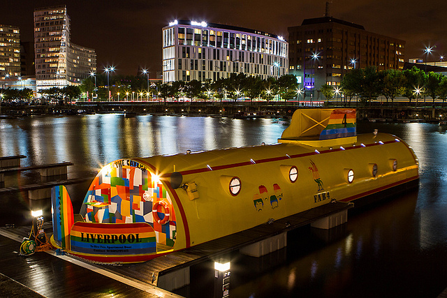 Travel: Yellow Submarine Hotel, Liverpool, England