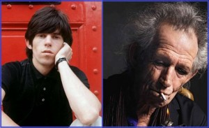Keith is 70 years old now, and he was an original member of the English band, The Rolling Stones.