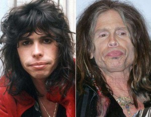 aged3- Steven is 66 years old, and he is best known as the front man for the band Aerosmith.