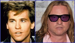 Val Kilmer is 54 years old, and he's starred in several blockbuster hits, including Top Gun and Tombstone.