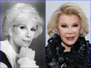 Joan Rivers recently passed away at 81 years old, and she is an American actress, comedian, and writer.