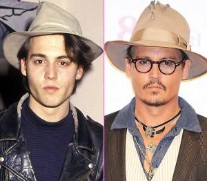Johnny Depp at 51 in 2014