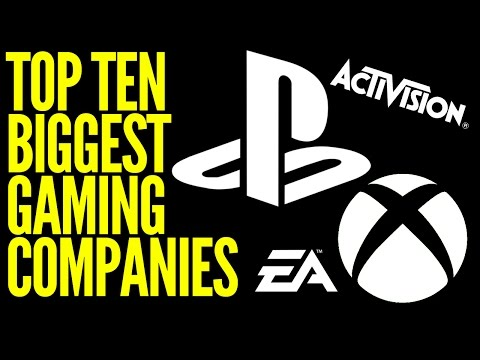 Top 10 Richest Gaming Companies in the World
