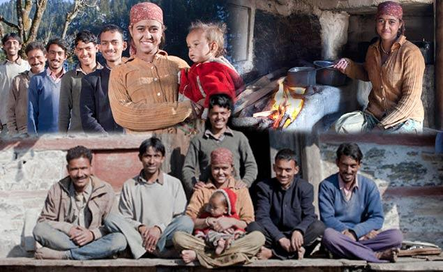 Against All Odds: Polyandry as Tradition,Wife married to  brothers!