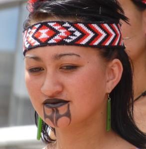 Maori woman