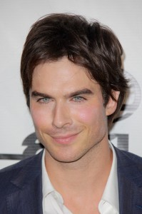 Ian Somerhalder (The Vampire Diaries) has striking, bright blue eyes.