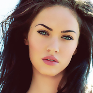 Megan Fox-seductive eyes