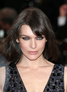 Milla Jovovich- green with envy over model actress Milla Jovovich's amazing eyes.