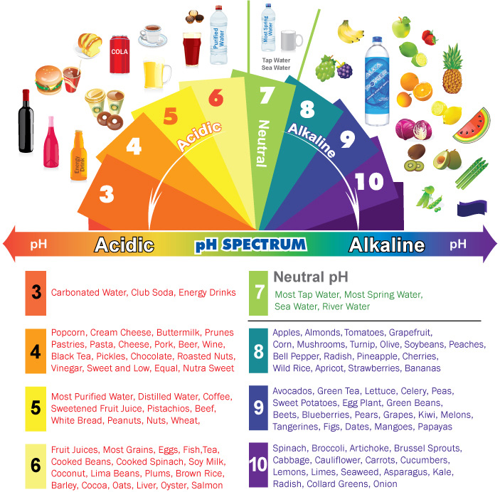 IT'S TIME TO ALKALISE YOURSELF!  AND The Myths of Acid vs. Alkaline Foods
