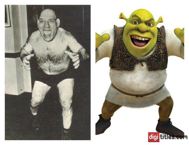 Meet Maurice Tillet, The Man Rumored To Have Inspired Shrek