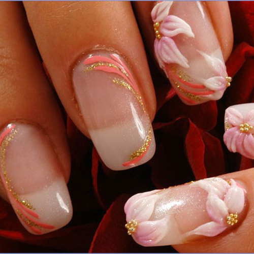70 Most Beautiful 3d Nail Art Design Ideas For Trendy Girls: » 70 Beautiful Nail Art Designs