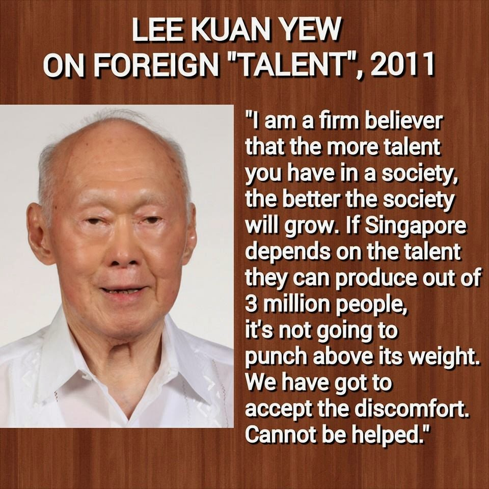 Singapore Founding Prime Minister Lee Kuan Yew, who died on Monday, March 23, 2015, aged 91