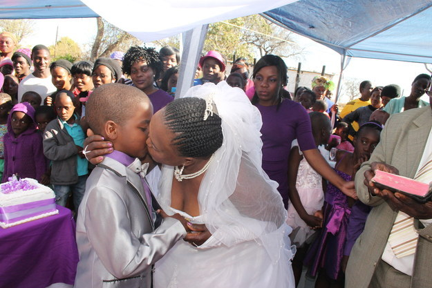 Against All Odds: A 62-year-old Woman married South African Schoolboy aged NINE – for Second Time