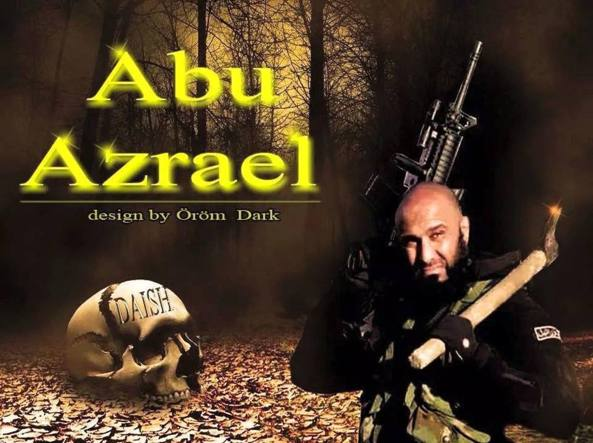 Abu Azrael: Iraq's celebrity anti-IS fighter Lone Rambo