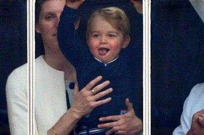 Adorable Prince George at TWO