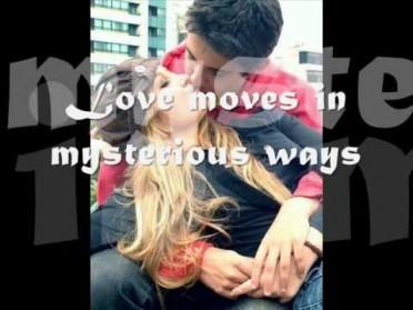 (Love Moves In) Mysterious Ways Lyrics