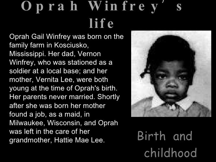 Oprah Gail Winfrey: North America's only Black Billionaire (2015)