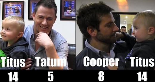 Trick Shot Titus 3 I ft. Channing Tatum & Bradley Cooper