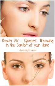 Perfect Eyebrow Threading at Home | Simple & Easy Tutorial DIY With Detailed Steps And Images