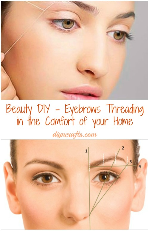 Perfect Eyebrow Threading At Home Simple Easy Tutorial Diy With