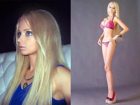 The  Photos of Real Life 7 Barbie and 4 Ken Dolls