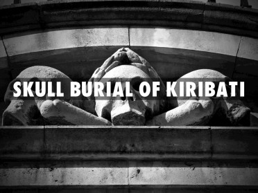 Kiribati Island, Kiribati People and Skull Burial