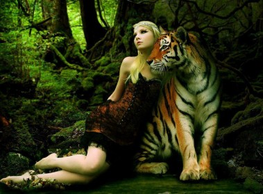 Girls' Animal Pictures: The Beauty and The Beast
