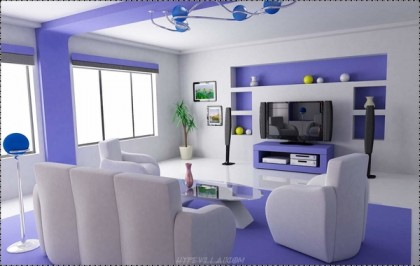 Different Designs In Different House Areas