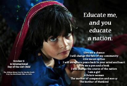October 11: International Day of the Girl Child