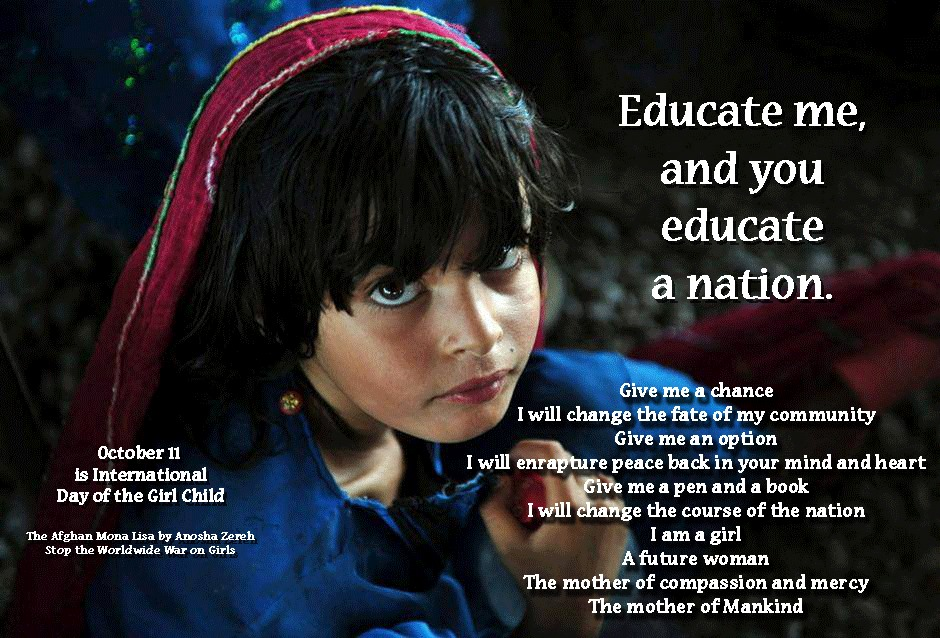 October 11: International Day of the Girl Child