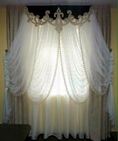 House:  Living Room Curtains