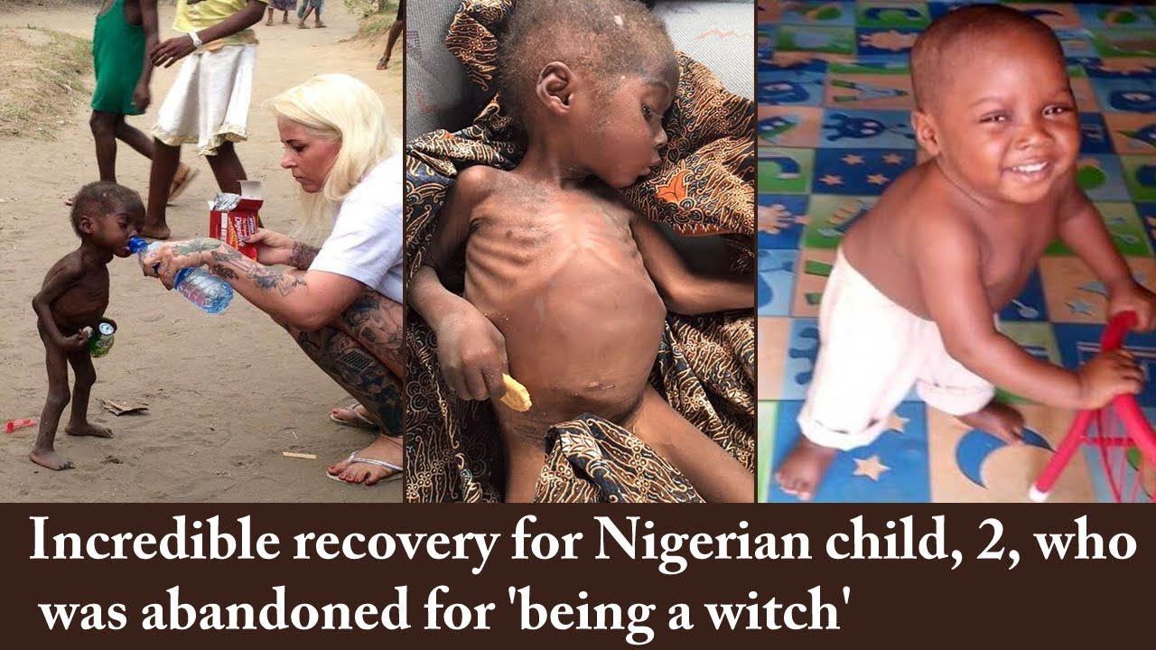 Dramatic rescue of two-year-old boy accused of being a witch in Nigeria