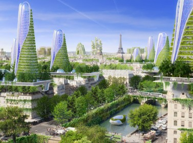 PARIS ARCHITECTURE : Vincent Callebaut Devises Smart-Towers for the Future of Paris