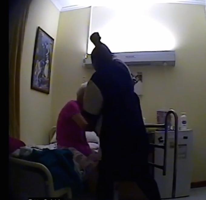 Sickening hidden camera footage shows  Cruel Caregivers and Sick Old Folk