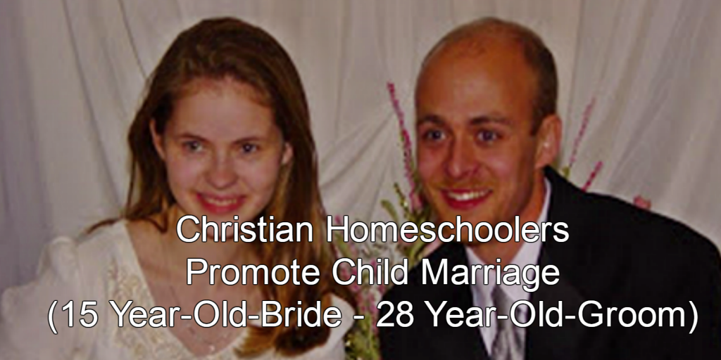 Tales of Horror:  The Christian Homeschool Movement Promoting Child Brides, Child Abuse, Children Kept in Cages