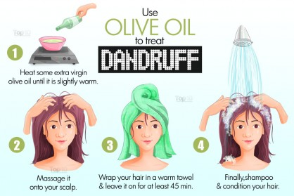 HEALTH: Home Remedies for  Oily Scalp, Dry Scalp and Severe Dandruff