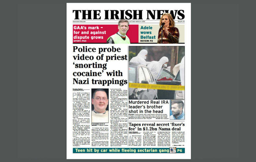 Drugs: Roman Catholic Priest No Prosecution After Filmed Snorting Cocaine
