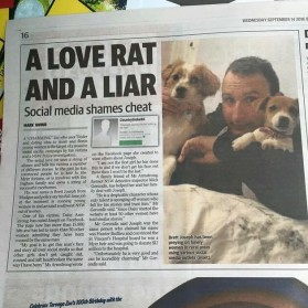 Love Rat: Brett Joseph, Charming Liar And The Victims Fight Back as Social Media Shames Him