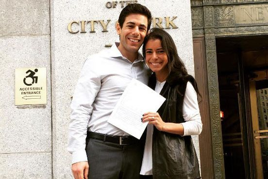 Bradley Moss and Amy Bzura : Broken engagement leads to lawsuit over $125K diamond ring
