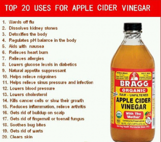 HEALTH: Benefits, Dosage and  Side Effects Of Apple Cider Vinegar