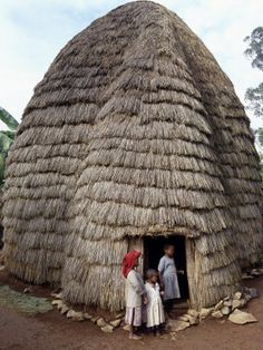 ARCHITECTURE: Houses Designed Based On Local Needs, Availability of Construction Materials And Reflecting Local Traditions