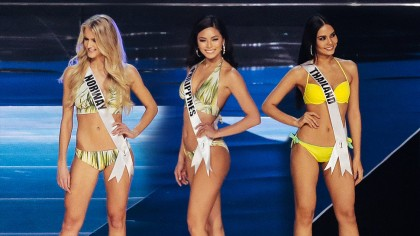 BEAUTY: Miss Universe 2017 Beauties Stun In Their Swimsuits