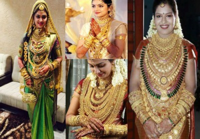 FASHION: Indian Brides, The Luster Of Golds And The Indian Bride Wears £400,000 of Jewellery On Her Wedding Day